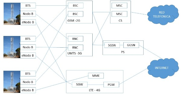 Complete network architecture